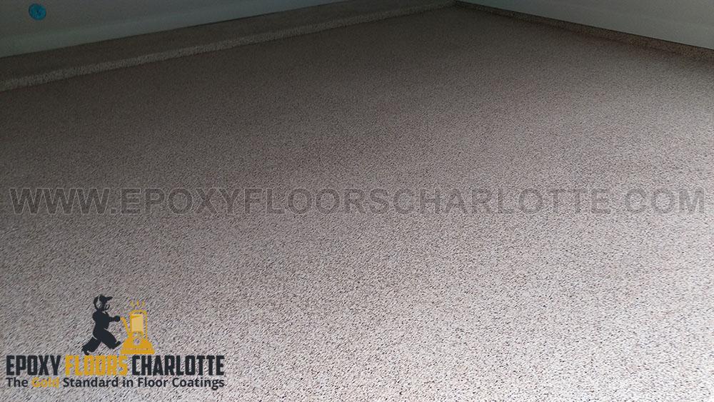 Epoxy Flake Flooring in Charlotte, NC
