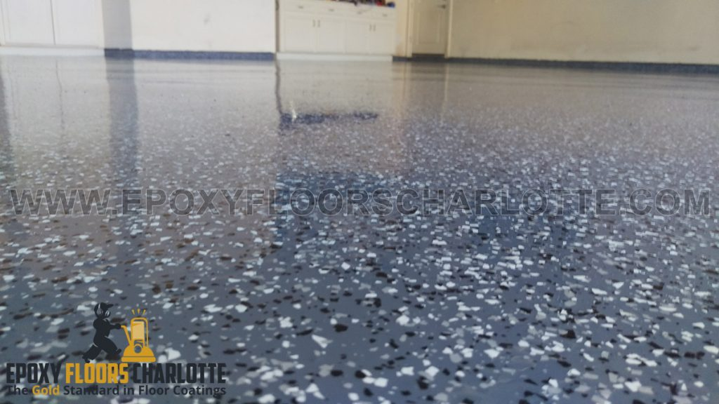 Epoxy Flake Flooring in Charlotte, NC